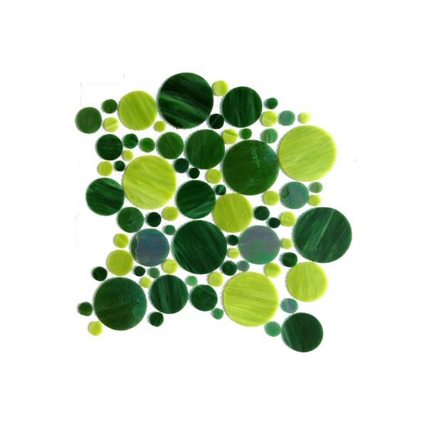 Palets de verre vert gazon plaque c t mosa que for Acheter plaque de verre