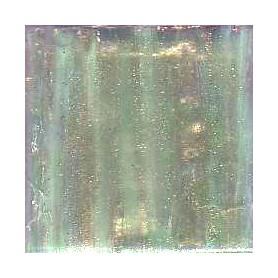 Pâtes de verre italiennes irisées ABSINTHE 2 × 2 cm