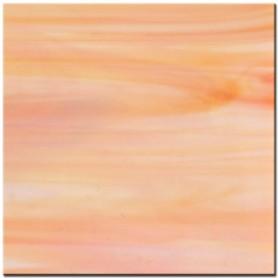 Tiges de verre PÊCHE orange clair 18 × 2 cm