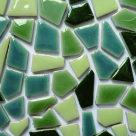 Mini-céramiques ZEN mélange de formes et de tailles aléatoires vendues par 100 g, 300 g et 600 g