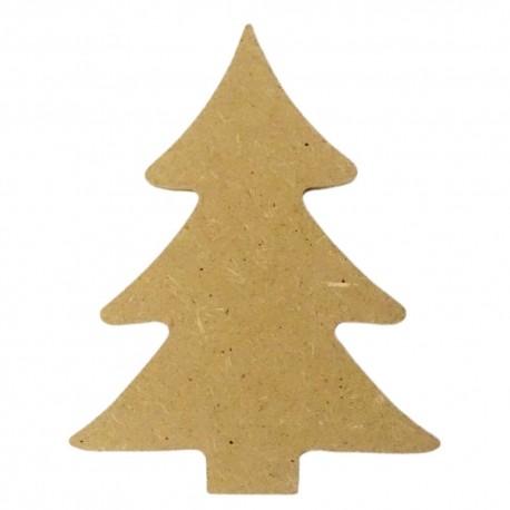 Mini support Bois forme de Sapin pour Mosaïque 13,5 cm