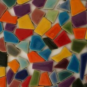 Mini-céramiques ARLEQUIN mélange de formes et de tailles aléatoires vendues par 100 g, 300 g et 600 g