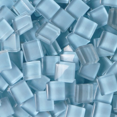 Pâtes de verre translucides Bleu océan