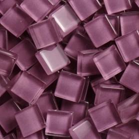 Pâtes de verre translucides Raisin violet 10x10 mm