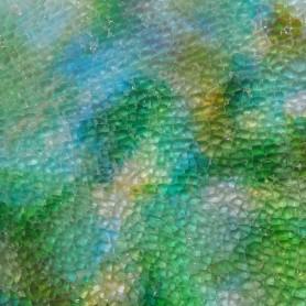 Crackle marbrée couleur TURQUOISE MARBRÉ 15 × 20 cm