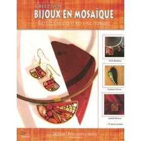Livre Créez vos bijoux en mosaïque de Muriel Ligerot aux éditions Couleurs Mosaïques
