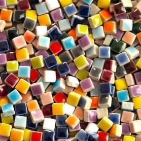 Coffret micro porcelaine multicolore 5 x 5 mm