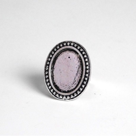 Bague ovale Marquise ajustable