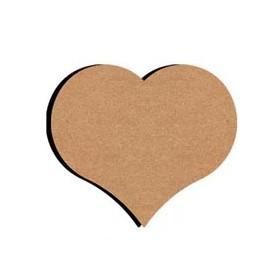 Mini support Bois forme de Cœur pour Mosaïque 14 cm