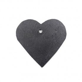 Ardoise Coeur pour le jardin (taille M)