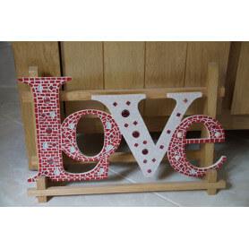 Support LOVE en mosaique