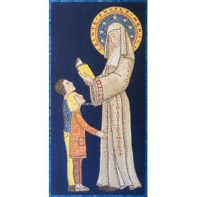Grand Tableau en mosaique thème religieux