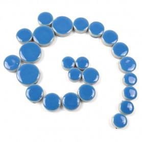 Céramiques pastilles MYOSOTIS bleu ciel