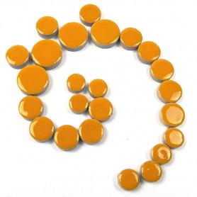Céramiques pastilles SAFRAN jaune doré