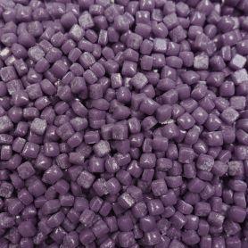 Micro-cubes 5 × 5 mm couleur AUBERGINE violet pour mosaïque