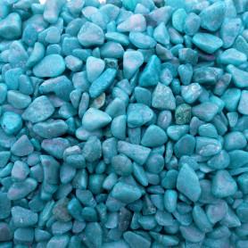 Pépites gravier coloré couleur BLEU sensationnel pour mosaïque