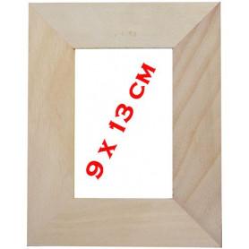 Support bois cadre pour photo 9 x 13 cm à recouvrir de mosaique