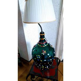 Exemple de mosaïque PIed de Lampe décoré par Yvette