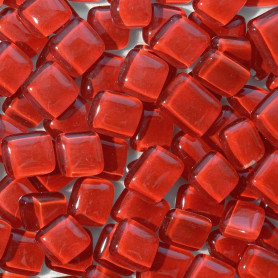 Cailloux de verre Grenade rouge