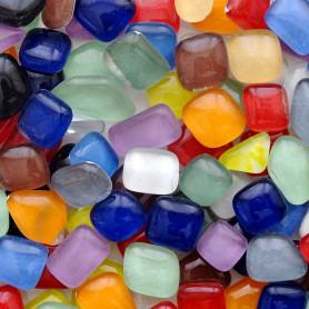 Cailloux de verre Cocktail Tutti Frutti mélange de couleurs acidulées