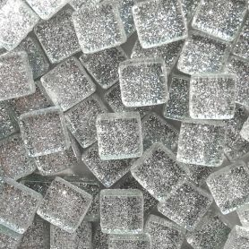 Pâte de verre Pailletée DIAMANT 100 g