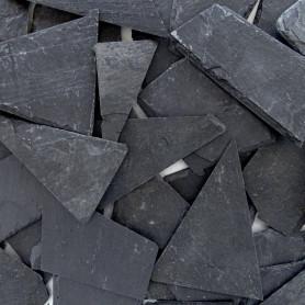Morceaux d'ardoise naturelle pour mosaïque vendus au kilo