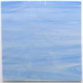 Plaques de verre BLEU ÉTÉ 18 × 18 cm