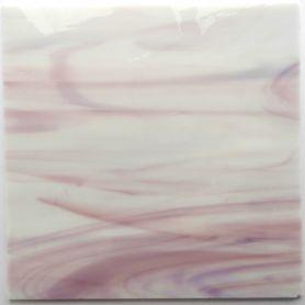 Plaques de verre MAGNOLIA rose très pâle 18 × 18 cm