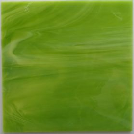 Tiges de verre VERT DE MAI vert éclatant 18 × 2 cm