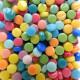 Mini-cabochons XS ARLEQUIN multicolore vendus par 100 g