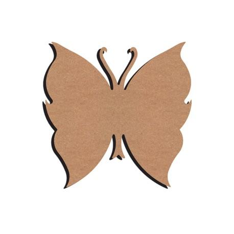 Support en Bois forme de Papillon pour Mosaïque 26 cm