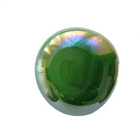 Bille de verre XL VERT irisé