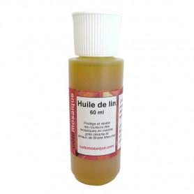 Huile de lin pour Mosaïque 60 ml