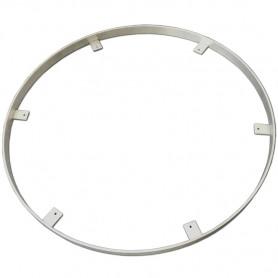 Cerclage en aluminium inoxydable et ultra-léger pour table bistrot ronde 70 cm de diamètre