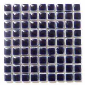 Mini-porcelaine MARINE FONCEE bleu très foncé 1 × 1 cm