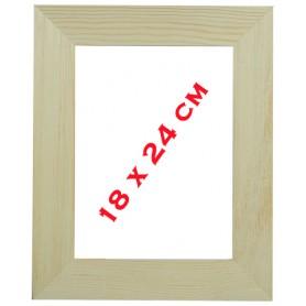 Cadre bois 18 × 24 cm pour mosaïque ou autres techniques de loisirs créatifs