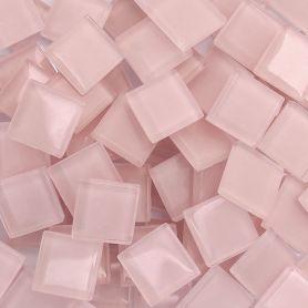 Pâtes de verre translucides Lilas 2 × 2 cm
