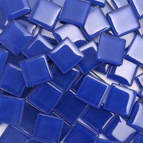 Pâtes de verre translucides Outremer 2 × 2 cm