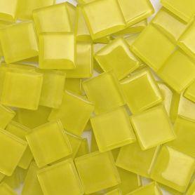 Pâtes de verre translucides Pamplemousse 2 × 2 cm