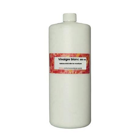 Vinaigre blanc 500 ml pour nettoyer les créations en mosaïque