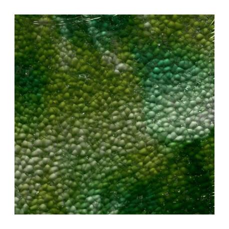 Crackle marbrée couleur VERT 15 × 20 cm