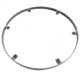 Cerclage en acier brut pour table bistrot ronde 70 cm de diamètre