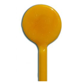 Sticks de verre opaque GIALLO LIMONE jaune clair