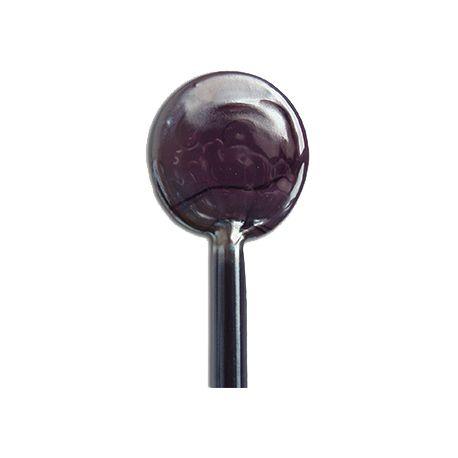 Sticks de verre VIOLA PRUGNA prune Effetre Murano 20 cm de long et 5-6 mm de diamètre