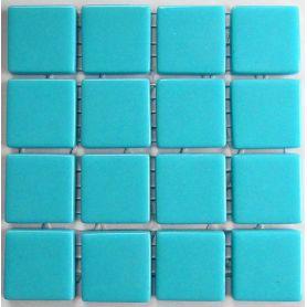 Emaux 24 Bleu clair 2,35 × 2,35 cm vendus à la mini-plaque de 16 carreaux