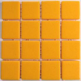 Emaux 24 JAUNE CC0430 mini-plaque