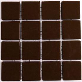 Emaux 24 MARRON FONCÉ CC1530 mini-plaque