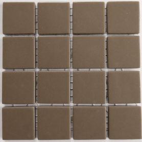 Emaux 24 MARRON GLACÉ CC2530 mini-plaque