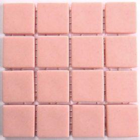 Emaux 24 ROSE SAUMON CC1130 mini-plaque