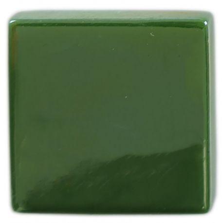 Emaux 24 Métallisés Bronze vert 2,35 × 2,35 cm vendus à l'unité ou en lot vue de biais